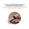 Kép 10/13 - Xiaomi Mi Watch okosóra Global Fekete ( 1 év Gyártói Háztól - Házig Garancia )
