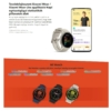 Kép 13/13 - Xiaomi Mi Watch okosóra Global  Bézs ( 1 év Gyártói Háztól - Házig Garancia )