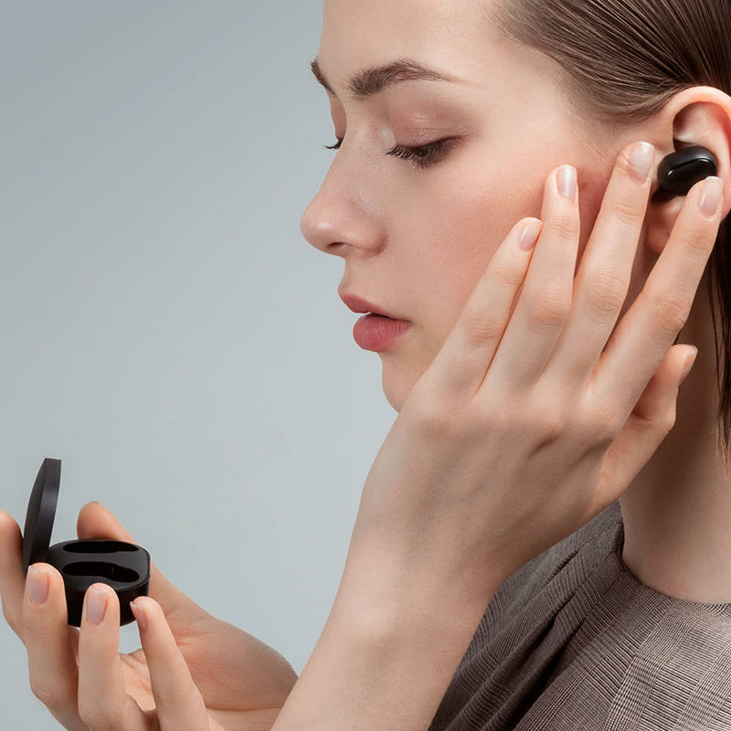 Xiaomi Mi True Wireless Earbuds Basic 2 Bluetooth fülhallgató Fekete