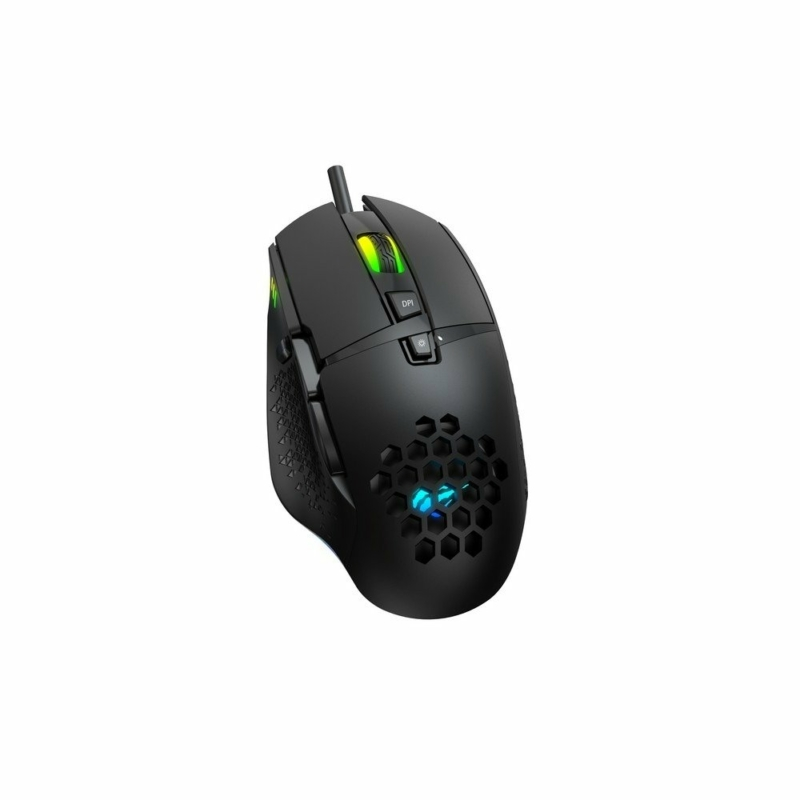 Havit Gamenote MS1022 RGB gamer egér 1000-3200 DPI, fekete
