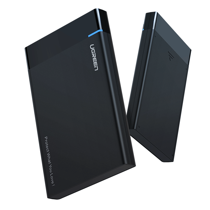 """UGREEN US221 SATA Külső SSD/HDD 2,5"""" ház SATA 3.0, USB-C, 50cm"""