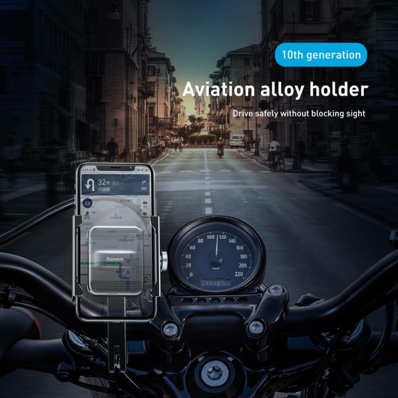 Baseus Telefon Tartó Motor, bicikli